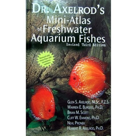 Dr. Axelrod's Mini-Atlas Of Freshwater Fish Book