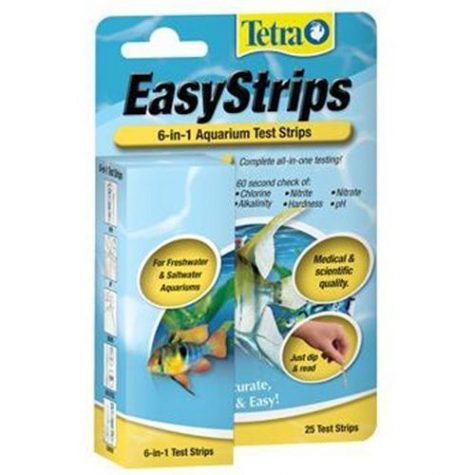Tetra Easy Strips® 6-IN-1 Test Strips