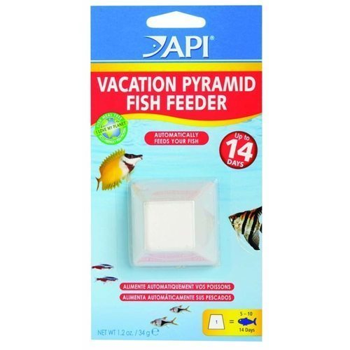 API 14 Day Vacation Pyramid Fish Feeder