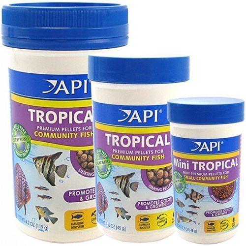 API Tropical Premium Community Pellet Food