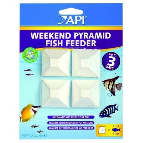 API Weekend Pyramid Fish Feeder