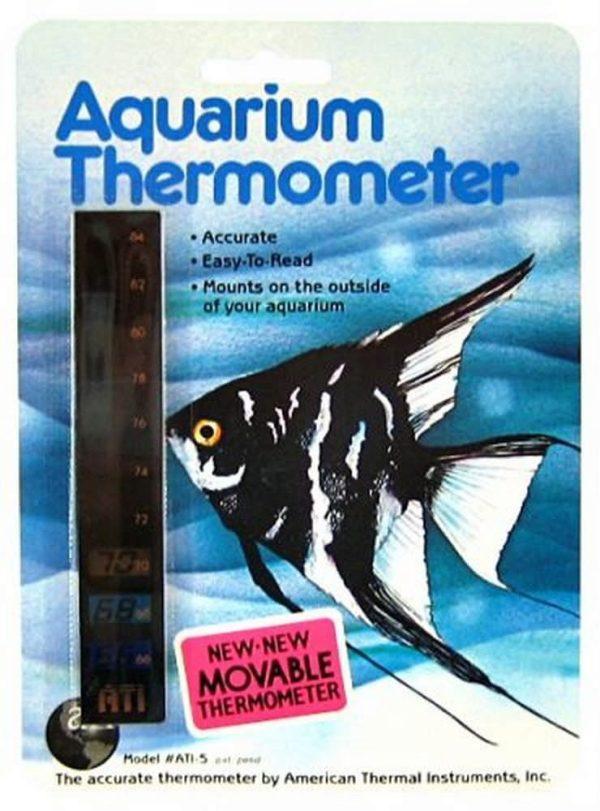 ATI Vertical LCD Aquarium Thermometer