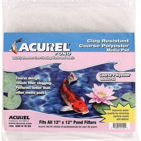 Filter Pad - 12 x 12 Acurel Coarse Polyester Media Pad