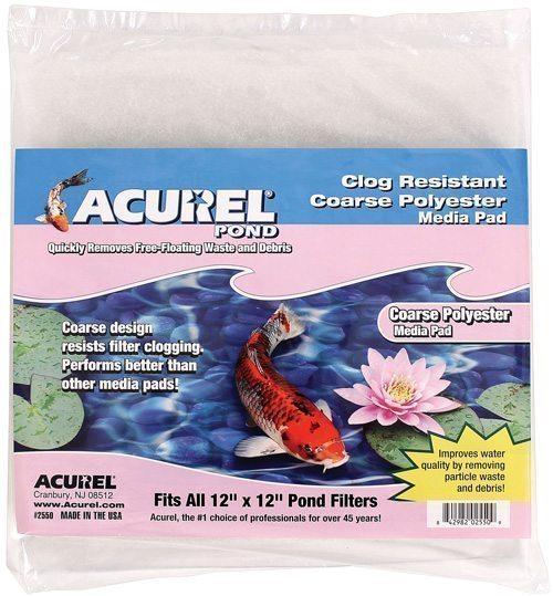 Filter Pad - 12 x 12 Acurel Coarse Polyester Media Pad
