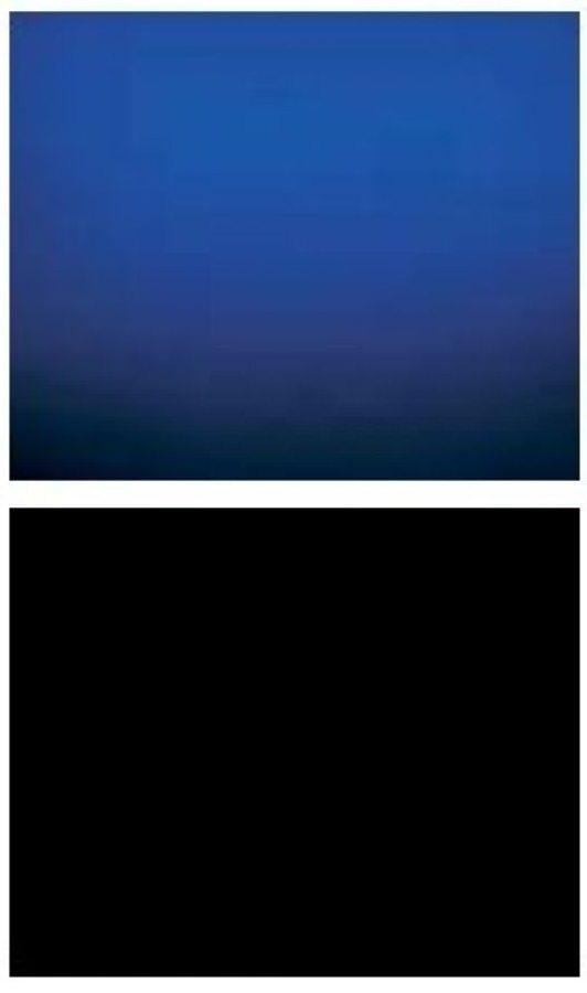Penn Plax Blue Night Sea Aquarium Background