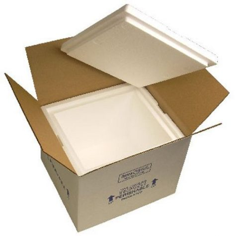 Insulated Styrofoam Box