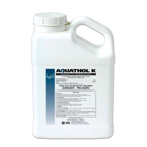 AQUL10 Aquathol Liquid Super K Herbicide – 1 gallon