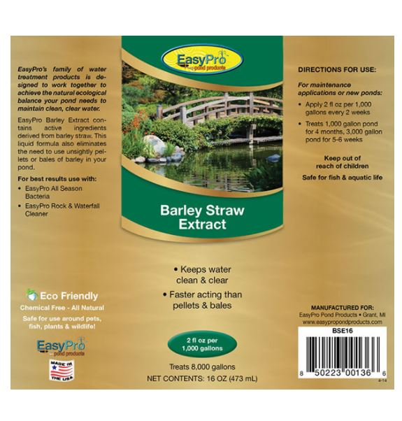 BSE16 Liquid Barley Extract – 16 oz. (1 pint)