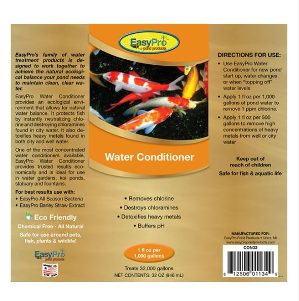 CON32 Water Conditioner – 32 oz. (1 quart)