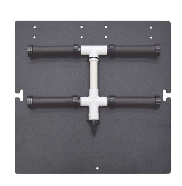 Air Diffuser Manifold - 4 Weighted RAD650W Rubber Diffusers