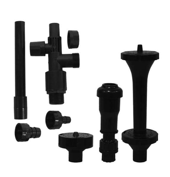 EP3N Mag Drive Fountain – Three Nozzle Set
