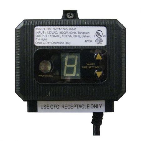 EPT19 Outdoor timer with photoeye – 1000 watt maximum