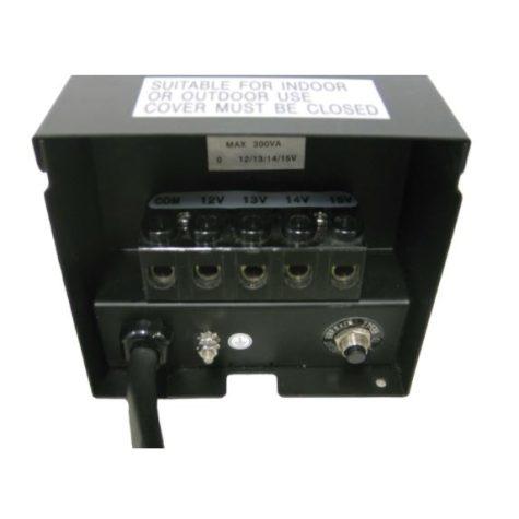 EPT300T 300 Watt Transformer with Photoeye and timer – 120 V to 12 V