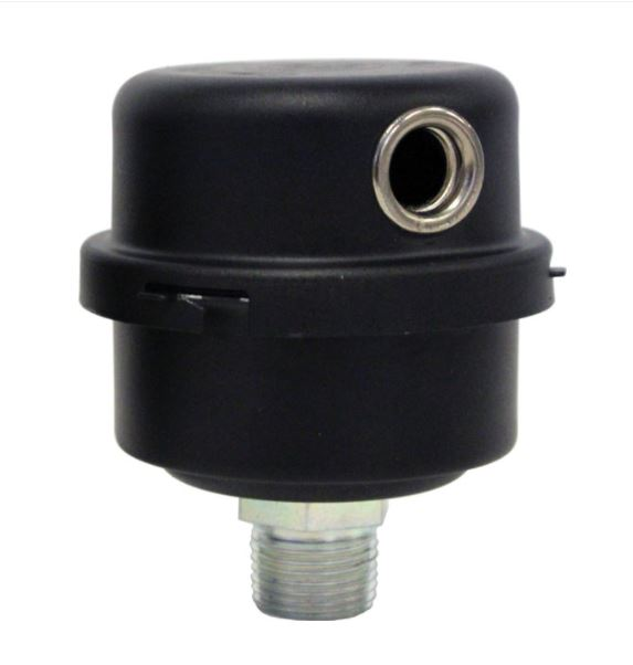 """Complete Air Filter for ERP25/50 compressors -1/4"""" npt"""