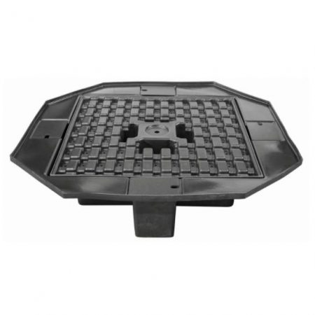 "FB58E Eco-Series Basin 58"" Wide w/ molded support grating"