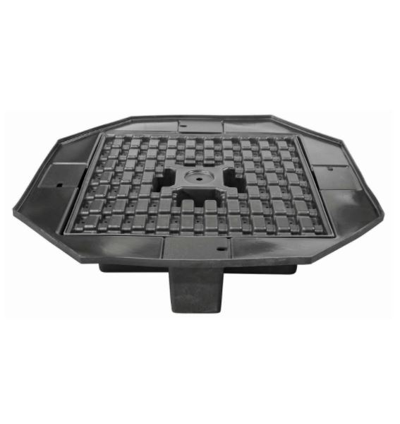 """FB58E Eco-Series Basin 58"""" Wide w/ molded support grating"""