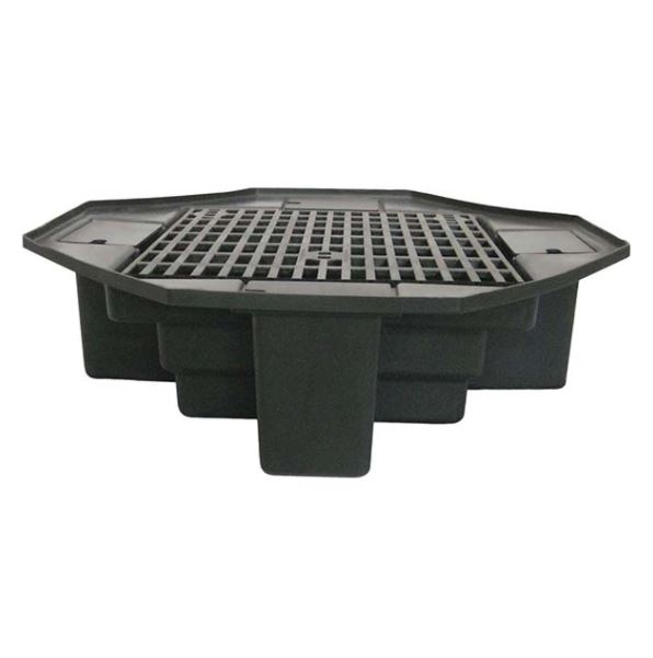 """FBL48 Eco-Series 48"""" lightweight basin with bench grating"""
