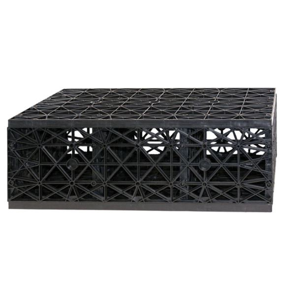 """HSC22 High Strength Res-Cube 1/2 cube – 9 1/2"""" H x 16"""" W x 27"""" L (sold in pairs ONLY)"""