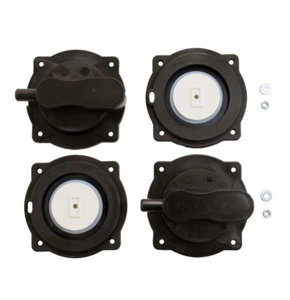 Stratus KLC Compressor Diaphragm Set - KLC60 and KLC80
