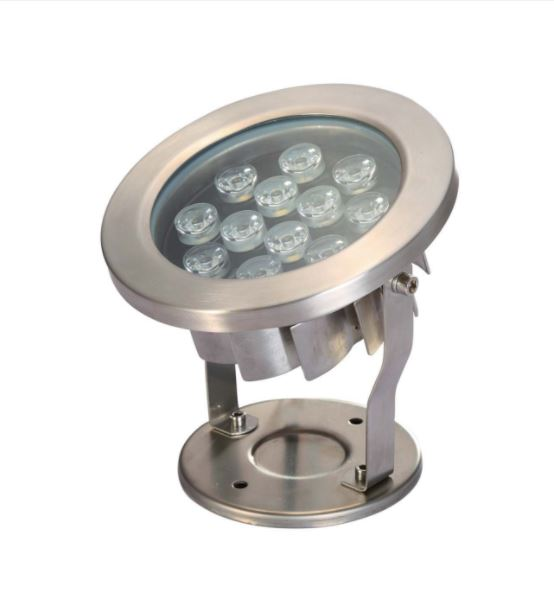 12 watt LED Submersible Stainless Steel fixture - Warm White
