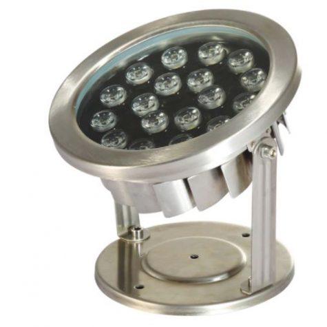 LED18WW 18 Watt Stainless Steel Underwater LED Light