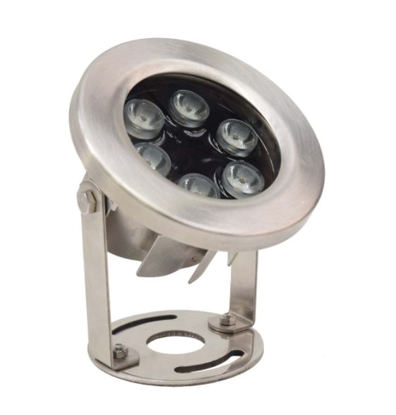 LED9WW 9 Watt Stainless Steel Underwater LED Light