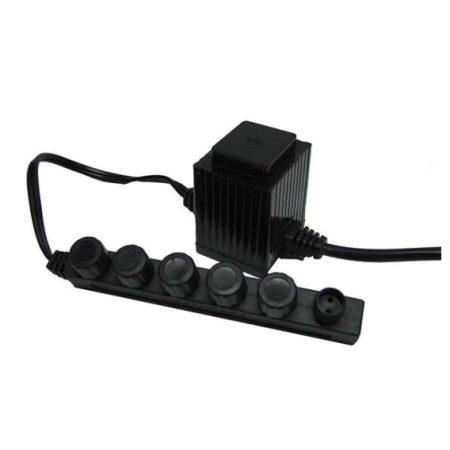 MT20 20 Watt Transformer – 120 volt to 12 volt – w/ 6 quick connects