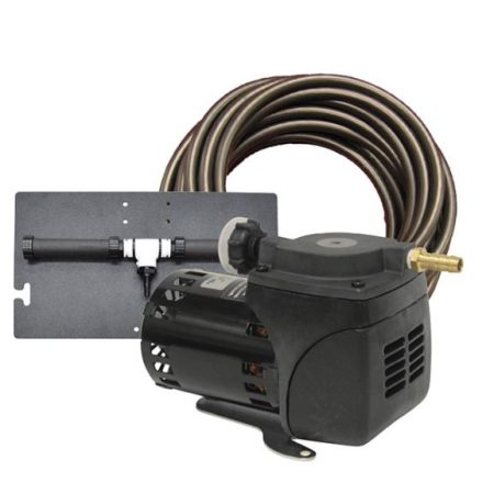 PA10W Pond Aeration System – 1/20 HP Kit with Quick Sink Tubing