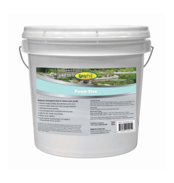 PB10X Pond-Vive Bacteria – 10lb pail – 20ct. 8oz Water Soluble Packs
