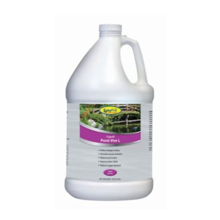 PB128 Pond-Vive L Liquid Lake & Pond Bacteria – 1 gallon