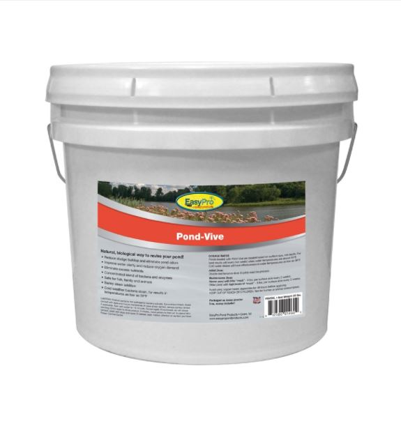 PB25XL Pond-Vive Bacteria – 25lb pail – Bulk Loose Powder