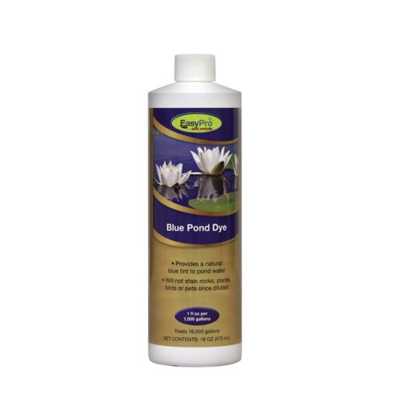 PD16 Concentrated Blue Pond Dye – 16oz. (1 pint)