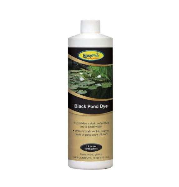 PD16B Concentrated Black Pond Dye – 16oz. (1 pint)