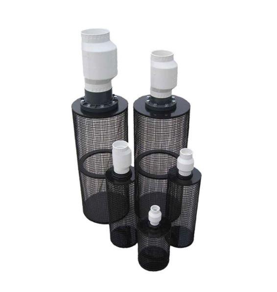 "PIF3 30"" Long / 11"" Diameter Centrifugal Pump Intake Filter – for 3"" Pipe"