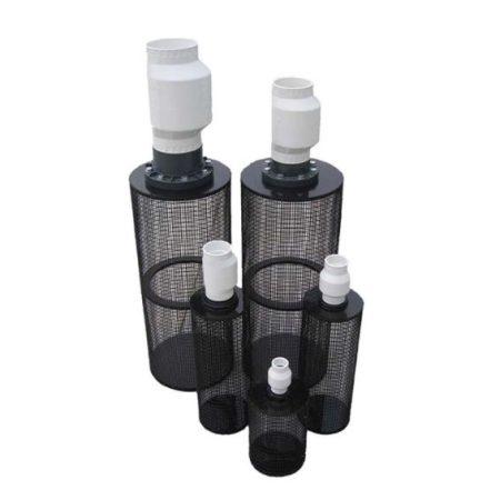 "PIF4 30"" Long / 11"" Diameter Centrifugal Pump Intake Filter – for 4"" Pipe"