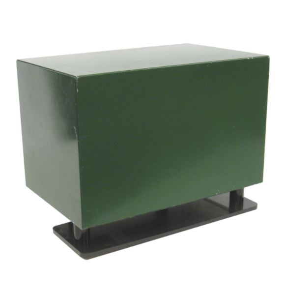 """Steel SC18 Cabinet with 230volt fan and Ground mount; 11 1/2"""" x 18"""" x 14 1/2"""""""