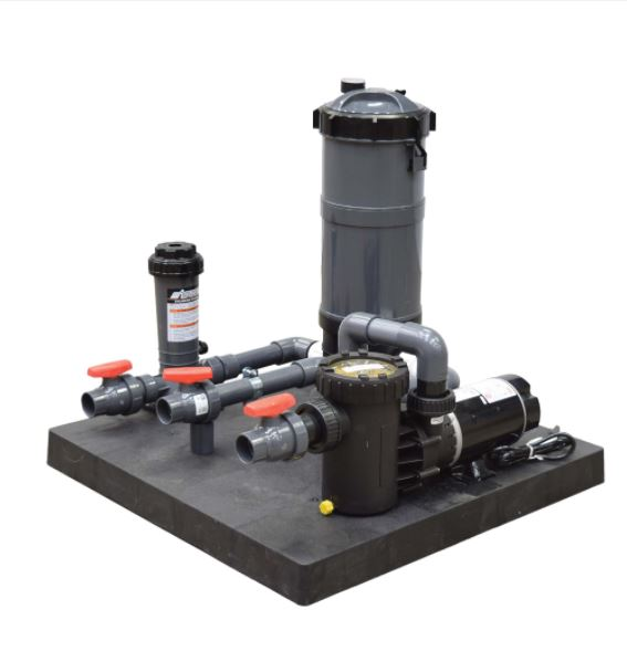SMC90M Skid Mount Cartridge System – Pump with PCF90 and Chlorinator