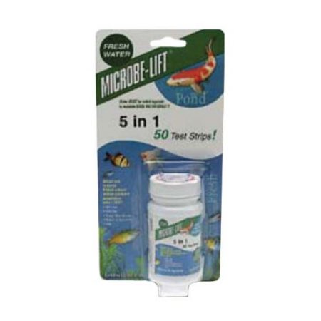 TS5 Microbe-Lift 5 in 1 – 50pc test strips