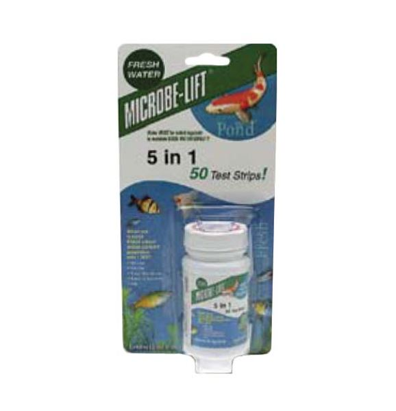 TS5 Microbe-Lift 5 in 1 – 50pc test strips