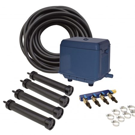 KLC Koi Pond Aeration Kit - 4000 to 30000 gallon ponds