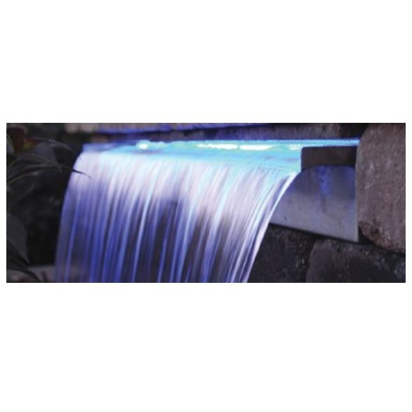 "LED35CB Blue LED strip light – 35"" long – 15′ cord 12v – includes 20w transformer"